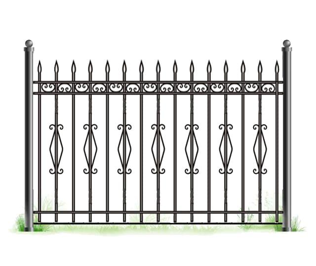 дороге забор с вензелями рисунок картинка министерстве экономики